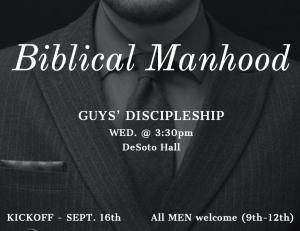 Guys' Discipleship